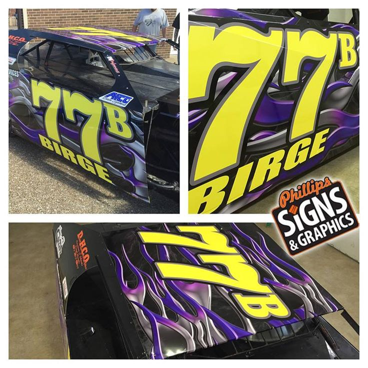 Wild Printed Race Car Wrap By Phillips Signs Graphics - Vinyl decals for race carsbmw race car wraps by graphios