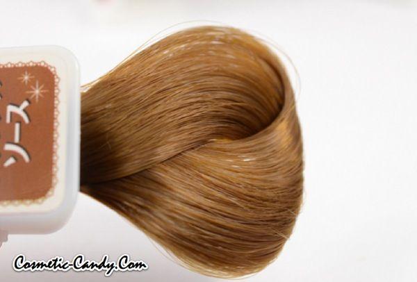 Palty Bubble Foam Hair Dye Swatch No. 2: Caramel Sauce **Updated**