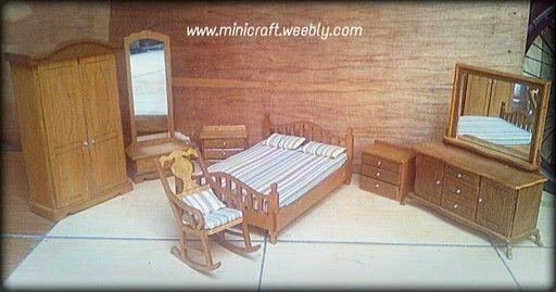 Forsale Mini furniture skala 1: 6 untuk boneka barbie, blythe, monster high , pullip, obitsu 30;cm doll