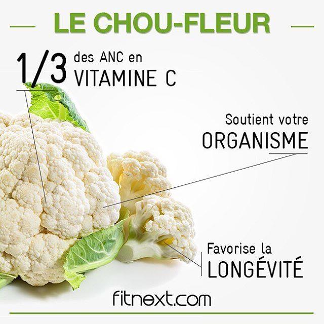 """241 Likes, 4 Comments - Fitnext par Erwann Mentheour (@methodefitnext) on Instagram: """"Le chou-fleur ? Un allié santé, riche en micro-nutriments  ! Il vous apporte notamment des…"""""""
