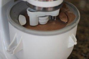 Homemade ice cream recipe | Fabulessly Frugal: in a kichenaid ice cream maker attachment!