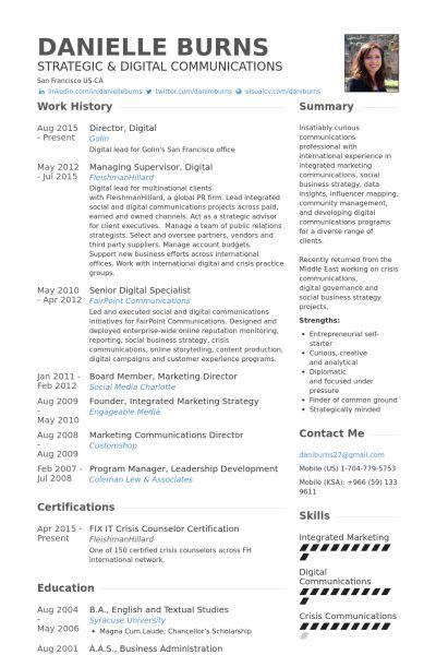 Marketing Communication Specialist Resume Marketing Communications - communication specialist resume