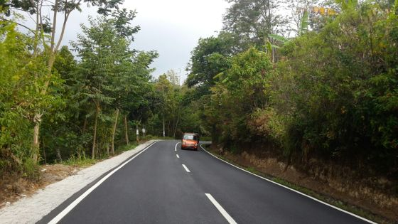 The smooth roads