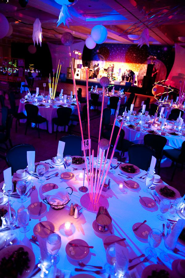 668 best glow party ideas images on pinterest neon party for Glow in the dark centerpiece ideas