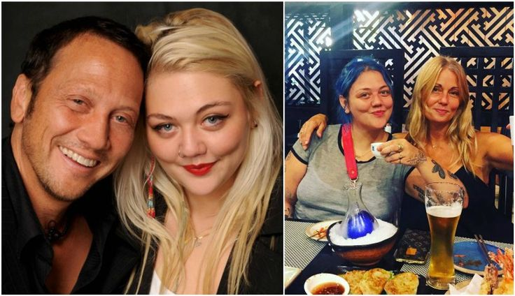 Robert Schneider`s daughter Elle King with father and mother London King