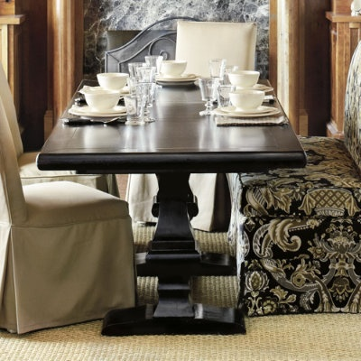 1000 images about dining table for banquette ideas on pinterest dining sets trestle table - Kitchen banquette seating for sale ...
