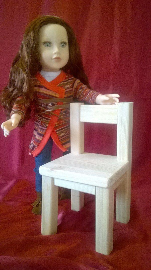Стульчик для кукол до 50 см