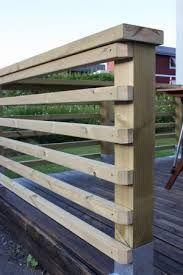 Bildresultat för staket ribbor liggande