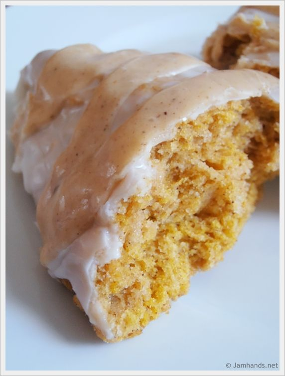 Jam Hands: Starbucks Double Glazed Pumpkin Scones- I cannot wait to give these a try! This is my favorite thing from Starbucks!