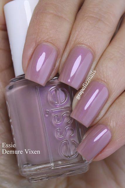 Essie Demure Vixen Grape Fizz Nails – Nägel