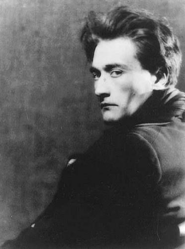 "Man Ray - Antonin Artaud. ""Each one of us, in his timidity, has a limit beyond which he is outraged. It is inevitable that he, who by concentrated application has extended this limit for himself, should arouse the resentment of those who have accepted conventions which, since accepted by all, require no initiative of application. And this resentment generally takes the form of meaningless laughter or of criticism, if not persecution."""