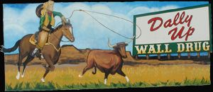 Wall Drug! We stopped here on our way to Rapid City. I loved it!! Such a wonderful roadside attraction!