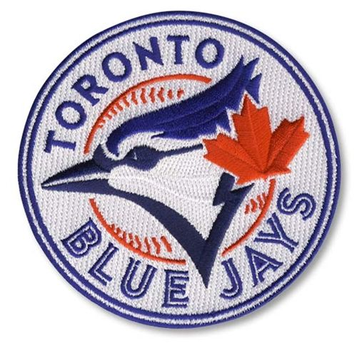 Toronto Blue Jays MLB Baseball 2012 Primary Jersey Sleeve Logo Patch