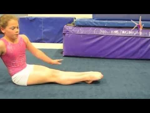 Quick leg straightening and tightening exercise