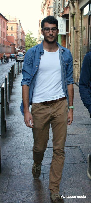 Indémodable chemise en jean. Chemise En Jean FemmeTenue Classe HommeTenue  Décontractée