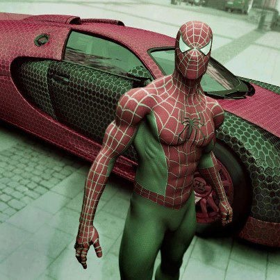 How many of you would like to share the new look of SpiderMan !! #Bangalore