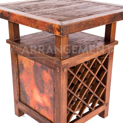 Wine Pub Table | Rustic furniture in Houston and Dallas. The best furniture store for custom built western furniture.