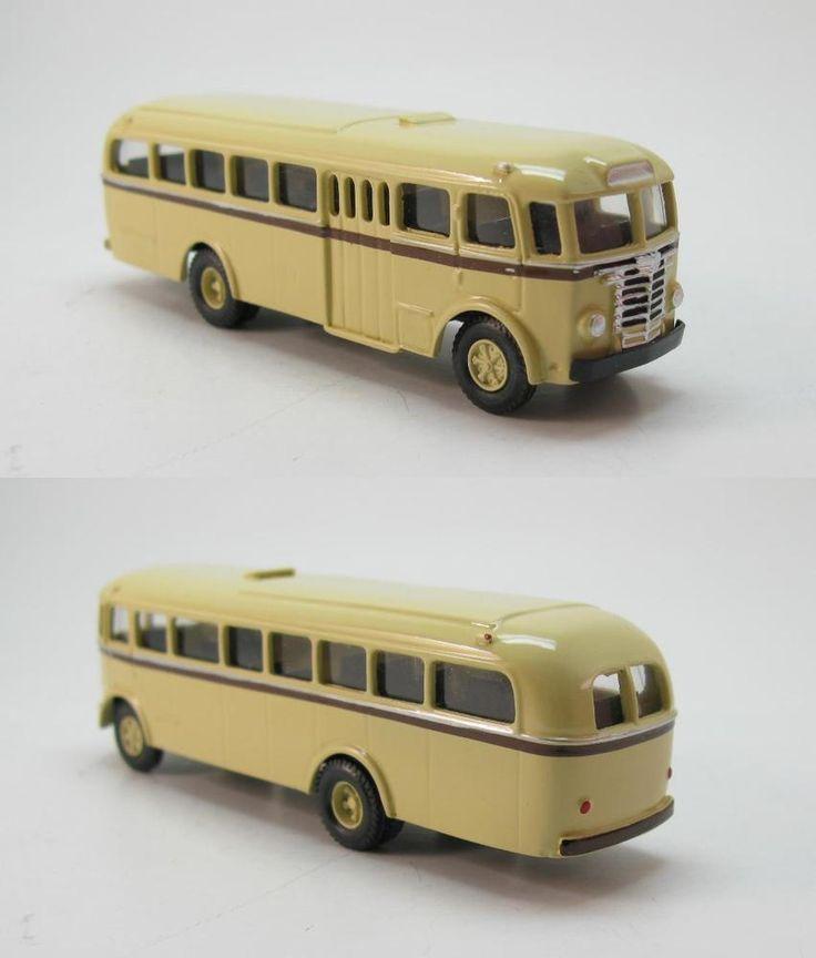 Ikarus 601 Stadtbus Urban-Bus Ungarn 1954 DVB Dresden DDR UdSSR - 1:87 HO