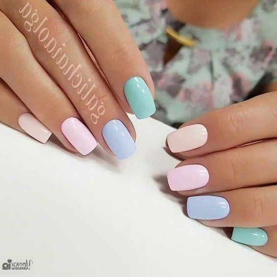 Mar 27, 2020 – 47 Most Eye-Catching and Gorgeous Light Colour Nails Design with Different Colors for Beginner 💋 – Page …