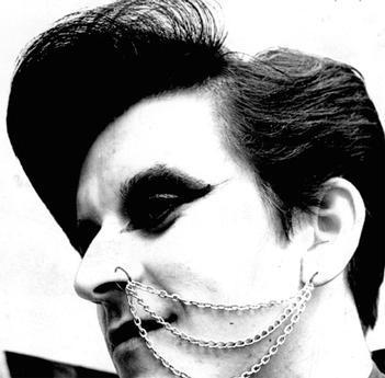 17-year-old Steve Harrington of Newbridge pictured in 1976 later found fame as Steve Strange of Visage.