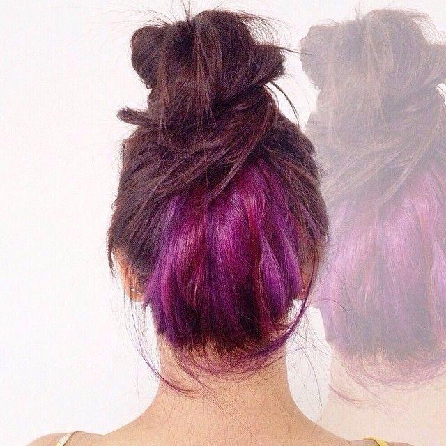 Tinte en la capa de abajo/underlayer hair color