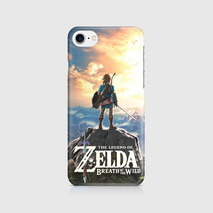 The Legend Of Zelda - Breath Of The Wild - With Title - Phone Case - Iphone, Samsung Galaxy