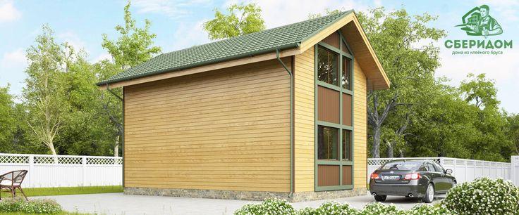 """Дом из клееного бруса, проект Оптима 1 """"зимний"""" Дом 6x9 метров с тремя спальнями, просторной гостиной и отдельной кухней рассчитан на семью из 3-5 человек. Несмотря на компактные размеры, этот дом дает полное ощущение простора и удобства.   Мы в соц. сетях:  twitter: https://twitter.com/Sberidom  facebook: https://www.facebook.com/118717895191502/  intagram: https://www.instagram.com/sberidom/  vkontakte: https://vk.com/sberidom  google+: https://plus.google.com/100999251842702597507"""
