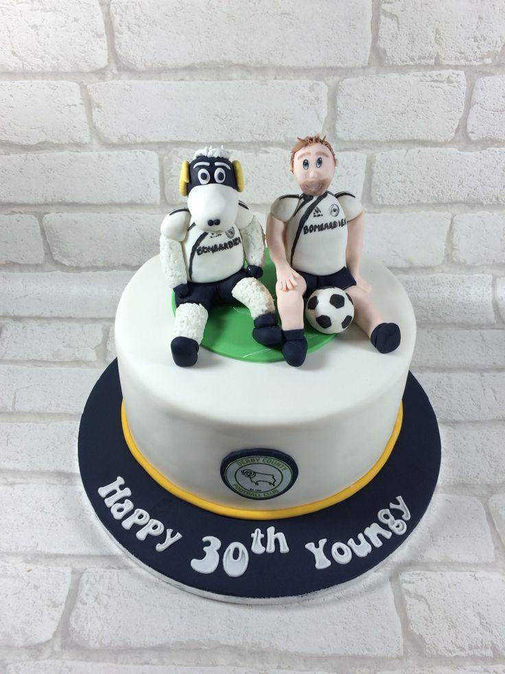 Derby County FC cake