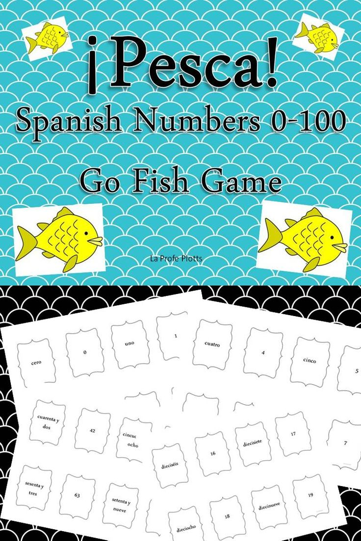 58 best Los números, Teaching Spanish numbers images on Pinterest ...