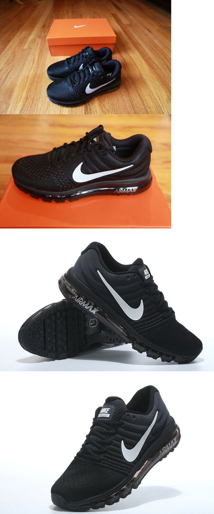 the best attitude df8e8 d595f ... clearance men shoes nike air max 2017 black men s running shoes  sneakers size 10.5 e7c59