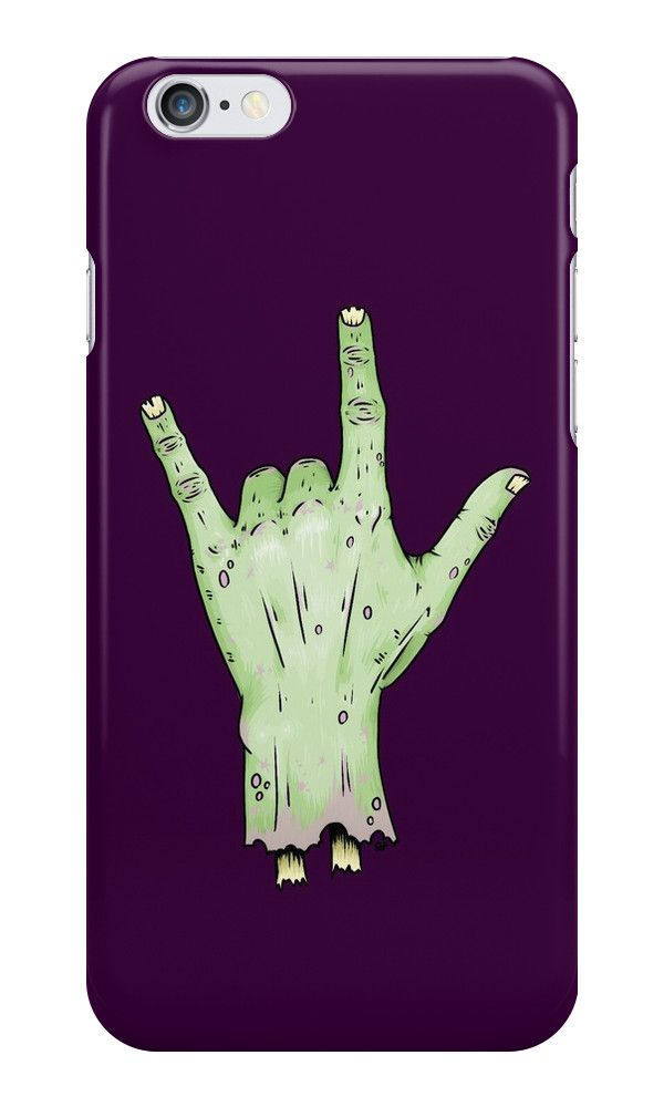 """""""Rock'n'Rise"""" iPhone Cases & Skins by crabro 