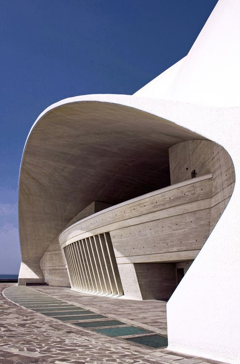 Auditorio de Tenerife, Canary Island, Spain-By: jmhdezhdez