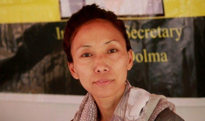 Une jeune femme fait une grève de la faim en Inde pour un Tibet libre
