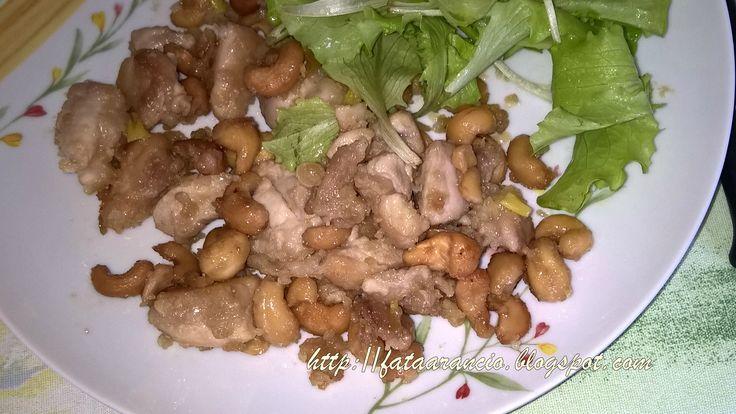 La Fatina in Cucina-Pollo con Anacardi #ricette #recipes #ffod #cucinaorientale
