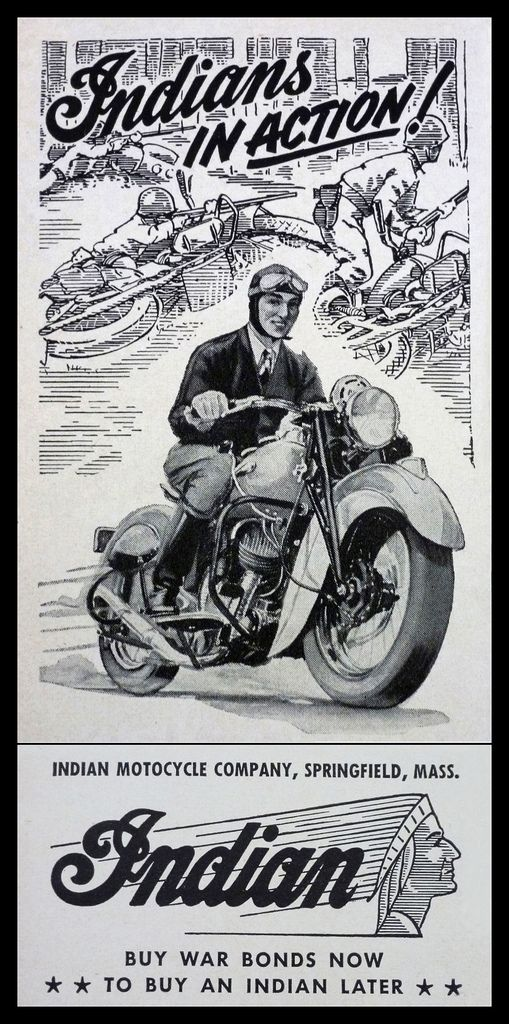 Vintage Brochures: Indian 1943 (Usa)