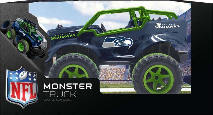 ~Seattle Seahawks R/C Monster Truck~ backorder