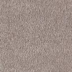 Carpet Sample - Metro II - Color Mineral Grey Texture 8 in. x 8 in.