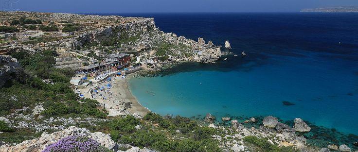 Paradise Bay, em Malta (foto: imagea.org/Flickr-Creative Commons) - Fornecido por Viagem em Pauta