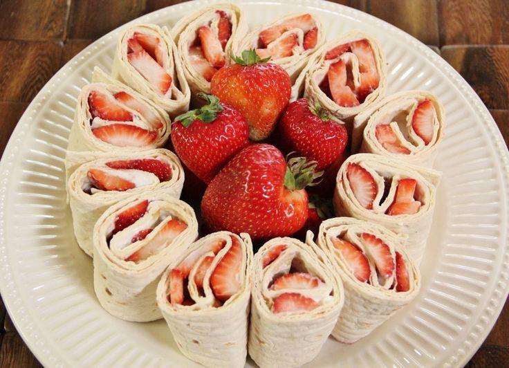 Strawberry Cream Cheese Pinwheels!