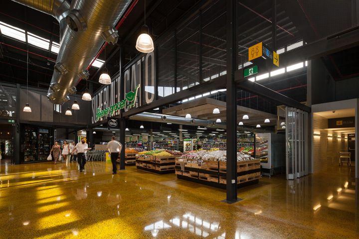 Современный дизайн продуктового рынка Capri on via Roma в Австралии