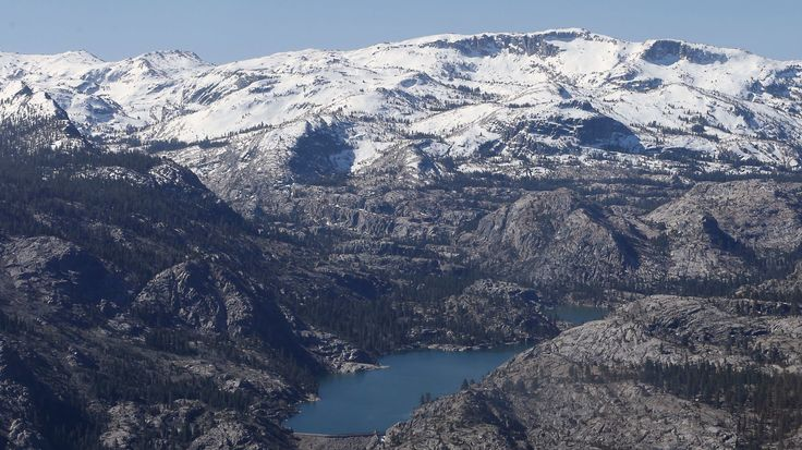 Snowpack levels surge in the Sierra Nevada, helping to power California out of drought