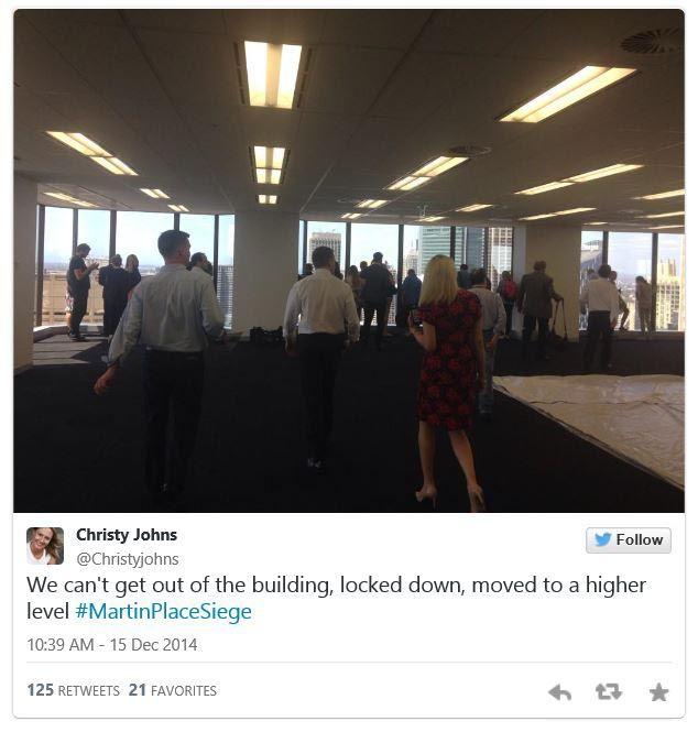 Sydney siege in pictures