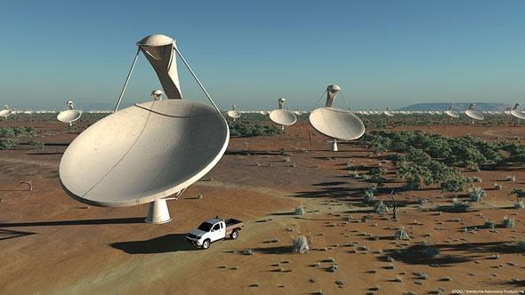 South Africa won the bid to host the Square Kilometre Array radio telescope.