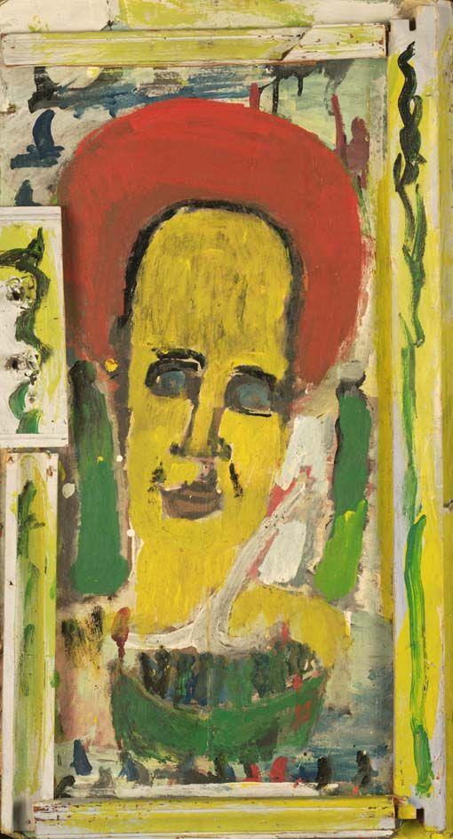 Purvis Young (1943-2010) was een Amerikaanse kunstenaar uit Miami , Florida. Young's werk, vaak een combinatie van collage en schilderen, maakt gebruik van gevonden voorwerpen en de ervaring van de Afro-Amerikanen in het zuiden. Een autodidact, Young kreeg erkenning als een hedendaagse cult kunstenaar.