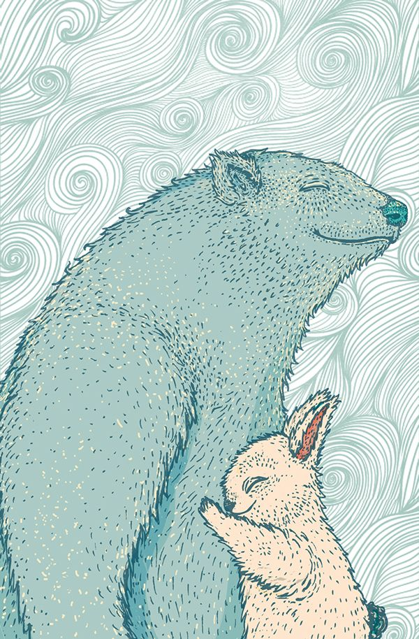2014 Personal Illustration collection by Louwrens Venter, via Behance