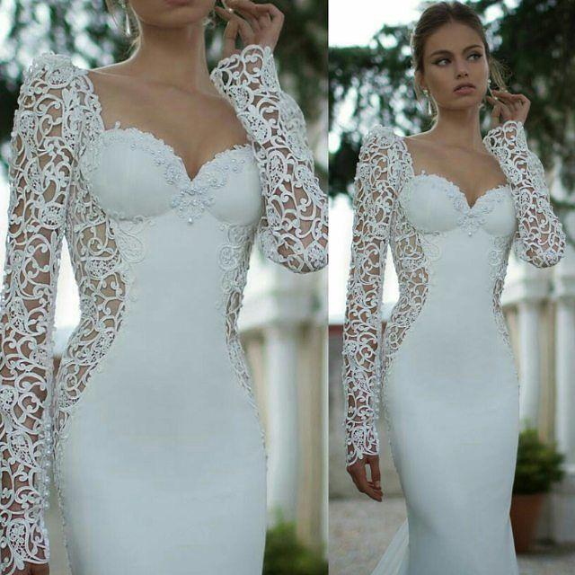 Bridal couture inspiration pic via @_majid_king #whitewedding #instabride #bridalinspiration #bridalcouture #instalove #picoftheday #instalike