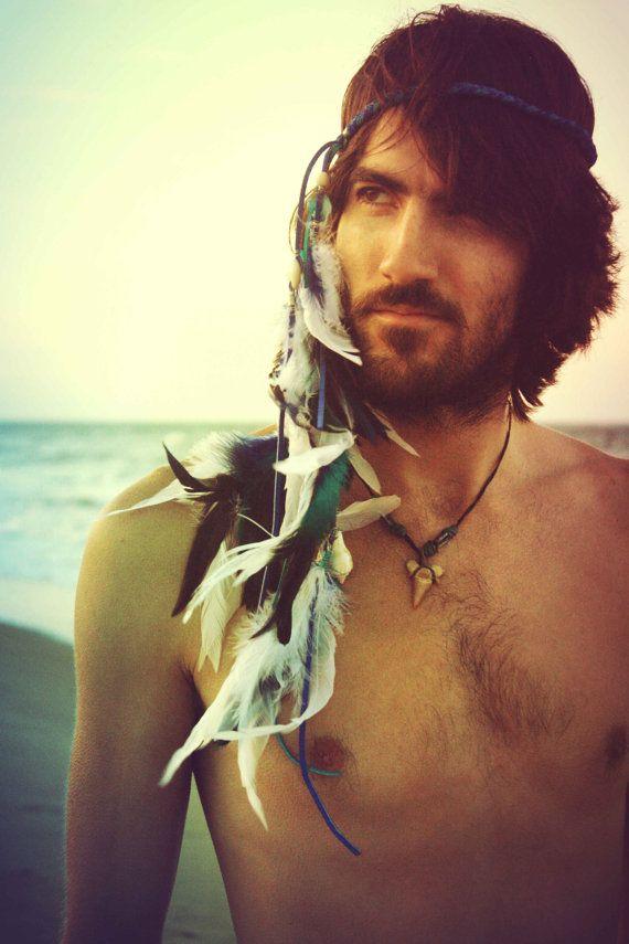 Posidons Command Festival Hippie Headband Gypsy MenGypsy LifeBohemian