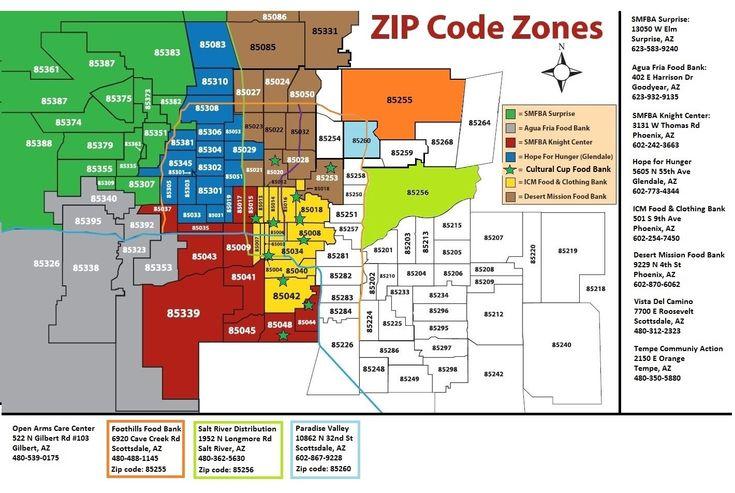 Scottsdale Az Zip Code Map | Zip Code MAP