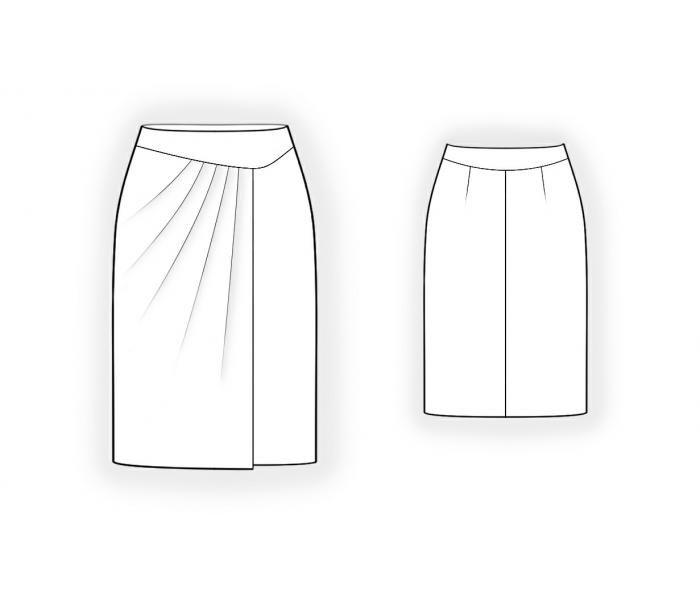 необычные модные юбки и выкройки в картинках этом острове есть