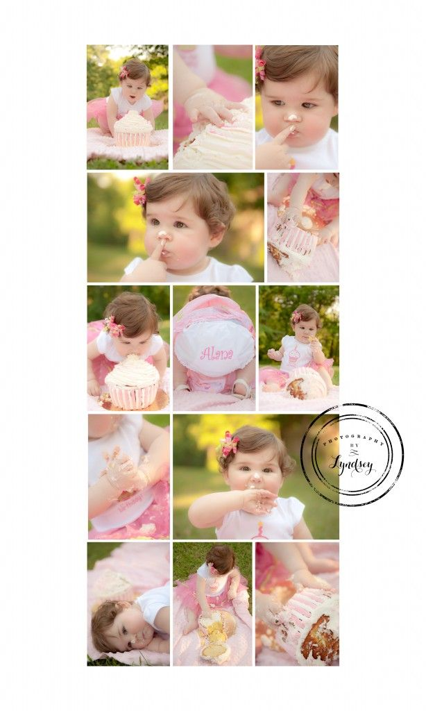 Cake smash photography by lyndsey pittsburgh childrens photographer
